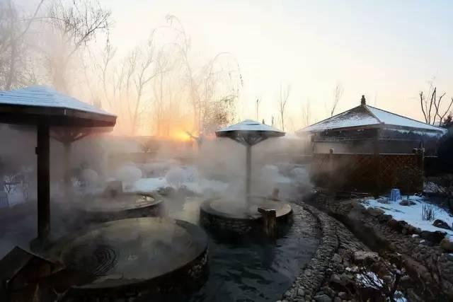 游玩推介 || 温泉氤氲的沈阳冬日