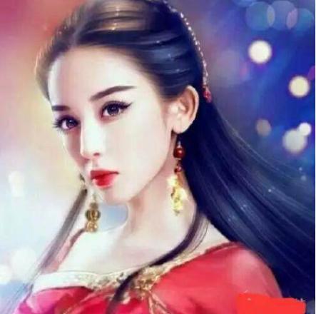 女星古装手绘图,郑爽呆板,唐嫣迷人,她妖气太重