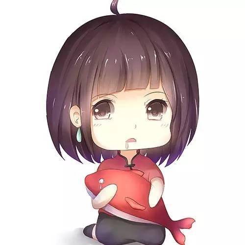 大鱼海棠超可爱q版动漫头像