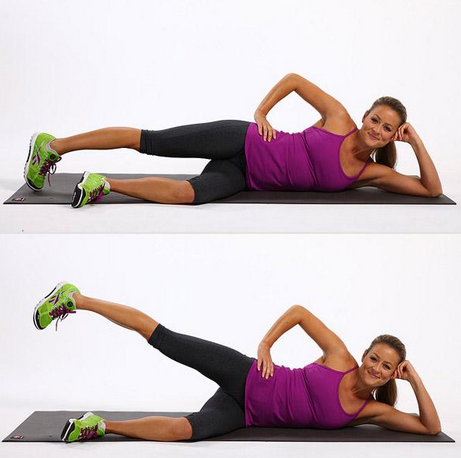 减大腿和臀部的方法图片