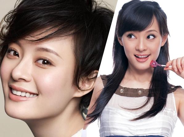 和唐嫣从长发到短发就很伤气质,我们看看女星长短发前后的对比照,究竟图片