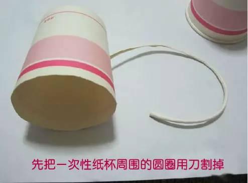 手工制作纸杯小蜜蜂