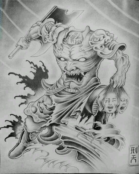 中国神话传说中的上古十大魔神