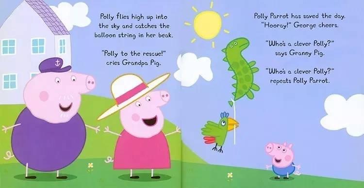 佩奇乔治过生日卡通图片-周二预告 不能错过的 Peppa Pig粉红猪小妹