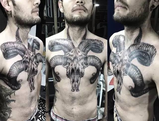 纹身|摩羯座?图案