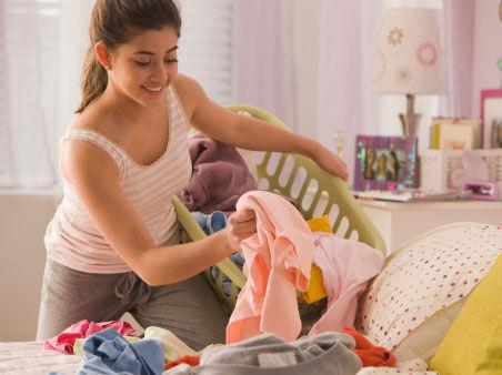 大人与小孩的衣服能一起洗?