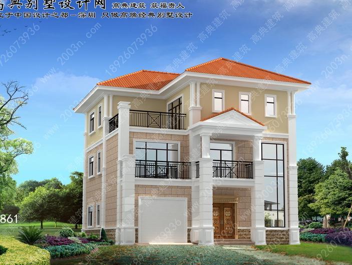 农村房屋设计图首层145平方米