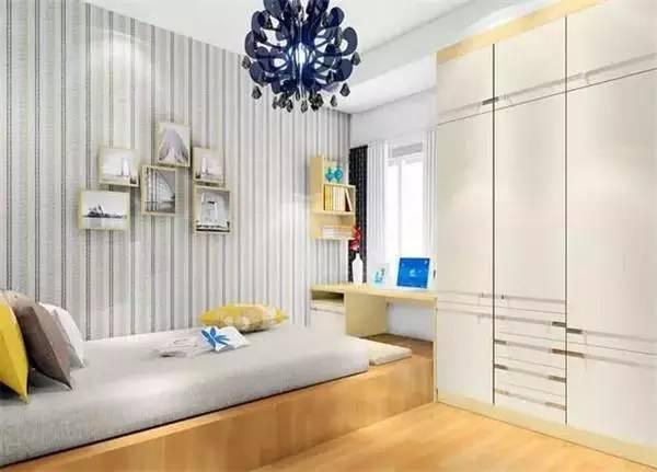 10平米卧室装修效果图 小卧室也可以超级美图片
