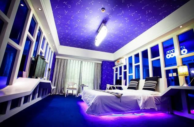 石家庄适合跨年约会的情侣酒店 装修设计各具特色