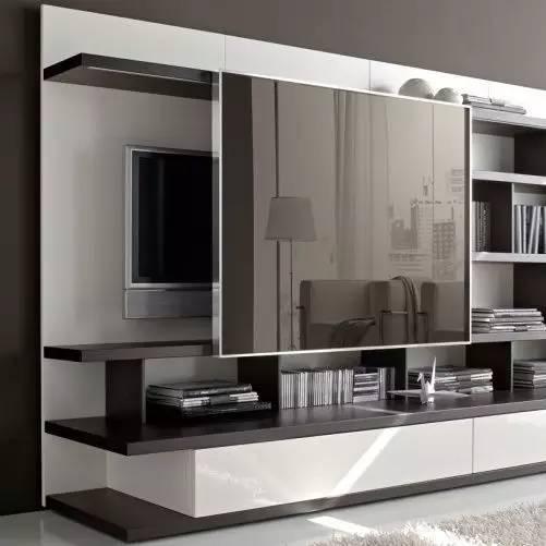 好看又实用的电视背景墙要这样设计