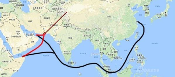 中国在邻国建设港口,将改写海上能源航线图图片