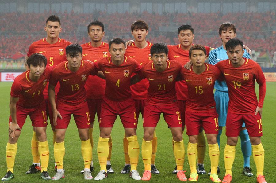 为国选材,2017中国杯揭幕战0:2负冰岛