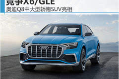 奥迪Q8中大型轿跑SUV亮相 竞争X6/GLE