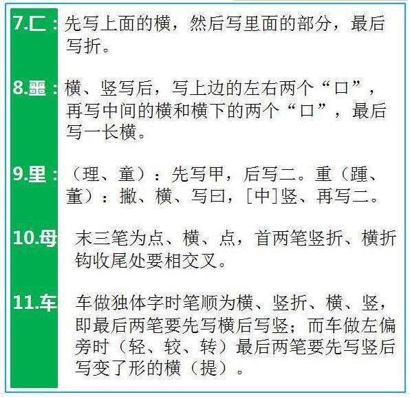 7000个汉字的规范笔顺,存起来寒假慢慢帮孩子改正