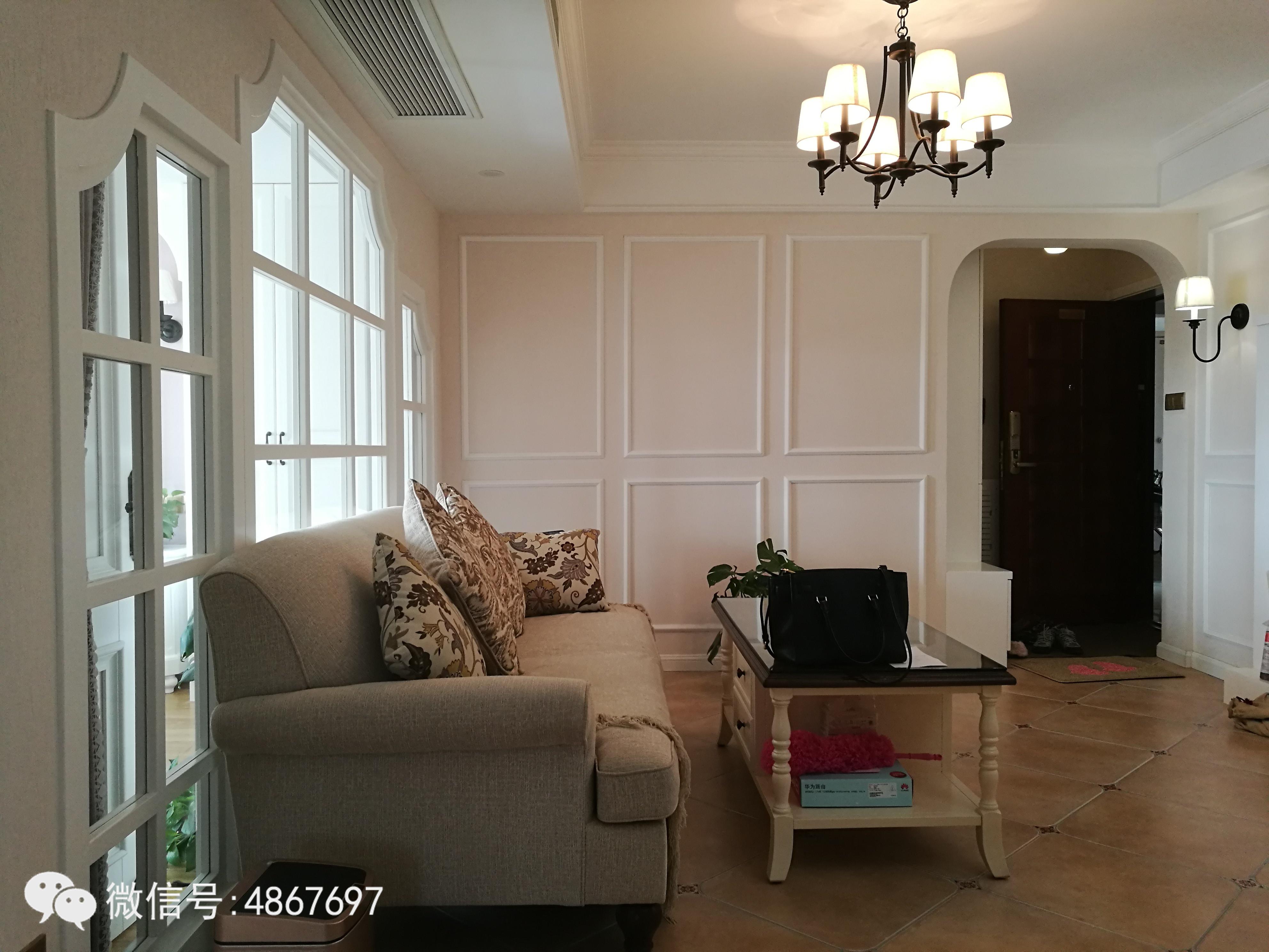 72平两室一厅,设计的美式风格,装修清单