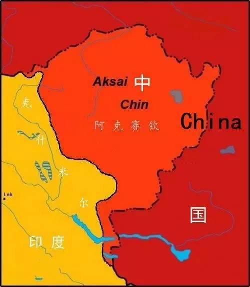 中国和印度各占了有争议的多少领土