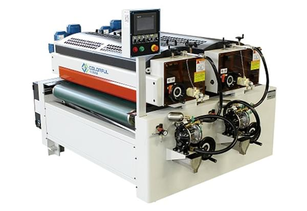 UV滚涂机生产线如何打动孟氏木门