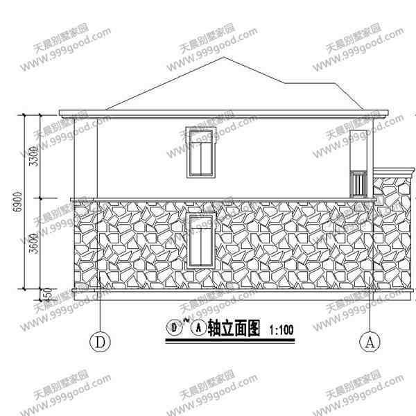 农村两层自建房设计图