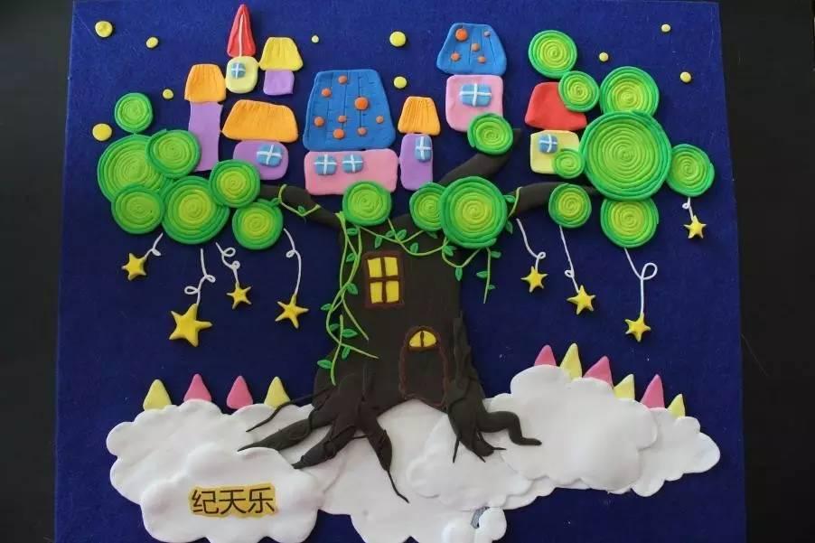 华昱童馨幼儿园 | 教师手工作品大比拼,创意十足,精美图片