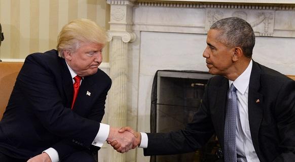 告别演讲的奥巴马在离任前给特朗普挖了5个坑(图)