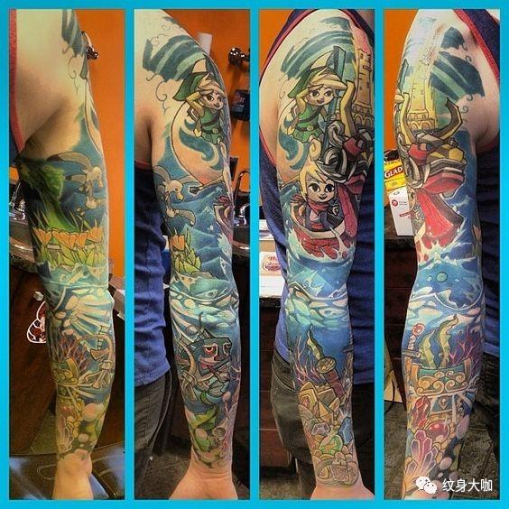 纹身素材:塞尔达传说