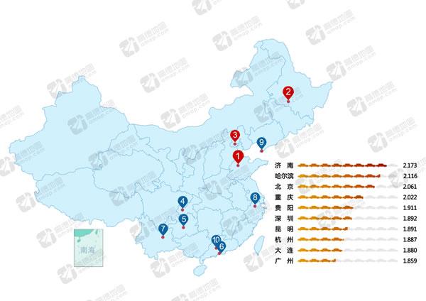高德地图2016年度交通报告:北京驾驶最文明 豪车出门时间晚 - 予墨Auto - 予墨Auto的博客