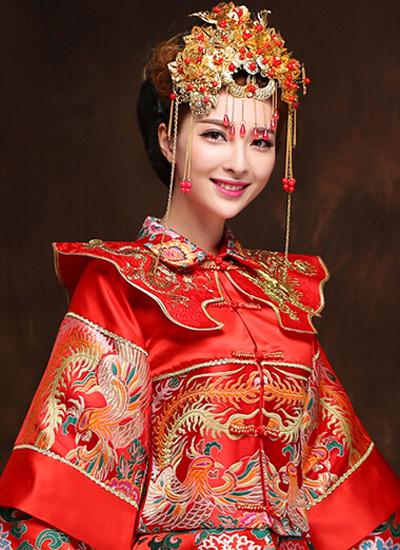 [瑞颜美妆学院]传统新娘造型(图05)
