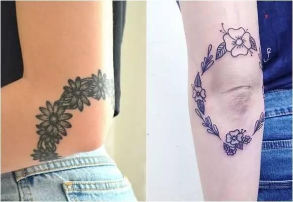 纹身素材——关节刺青