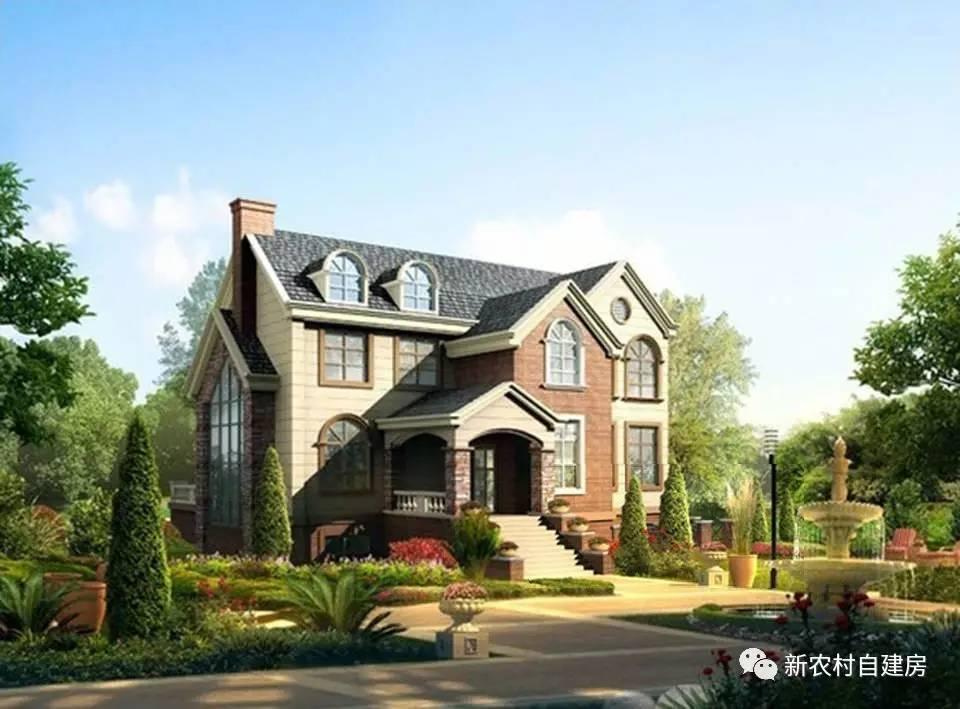 3套带地下室农村别墅图纸,造价百万豪华复式别墅