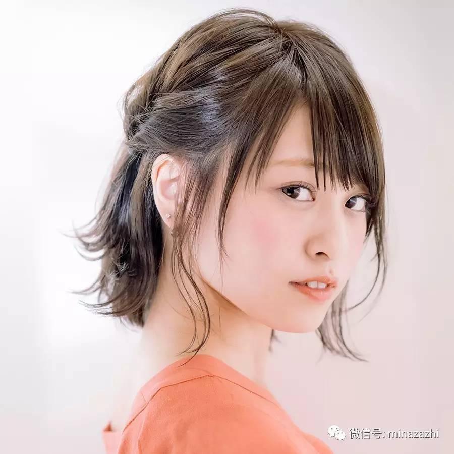 发型 美而好看!见长适合辈的【春节发胶】看这短发用发型怎么抓不俗图片
