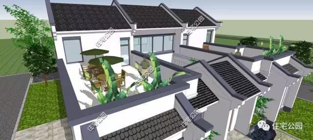 微信公众号:住宅公园,免费450套乡村别墅图纸下载,建房预算施工