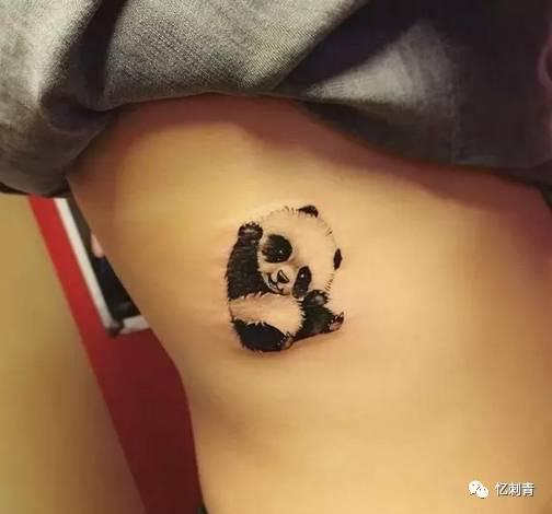纹身| 可爱熊猫纹身集合