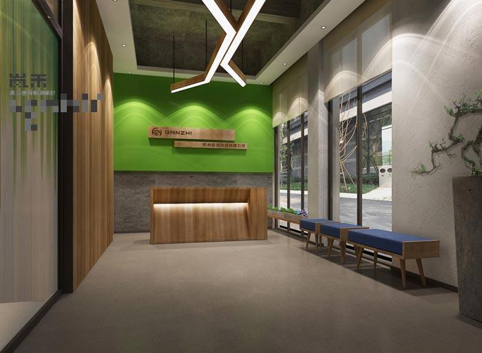 软件科技公司办公室装修设计案例效果图图片