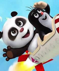 《熊猫和小鼹鼠》-广电公布2016年7部优秀国产动画 快进来看看你猜高清图片