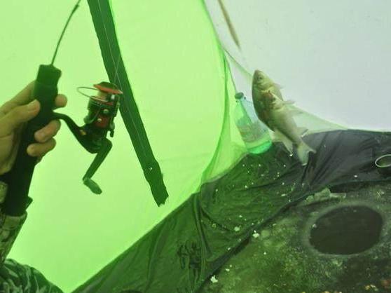 冒着暴雪去冰钓,吃住都在帐篷里!