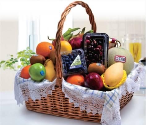 水果礼盒(大/小)图片