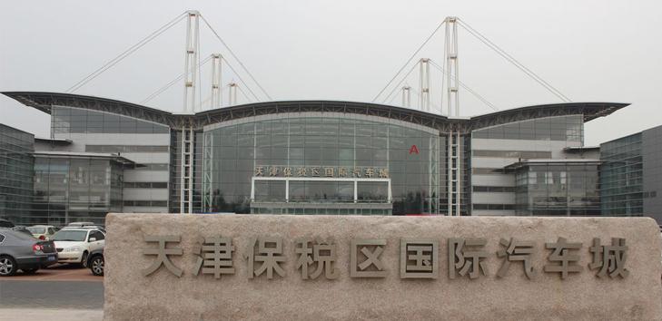 天津保税区国际汽车城都有什么车型