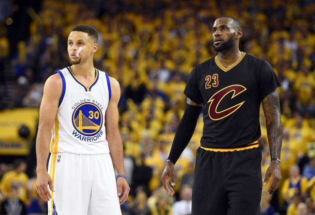 NBA直播:勇士vs骑士直播预告