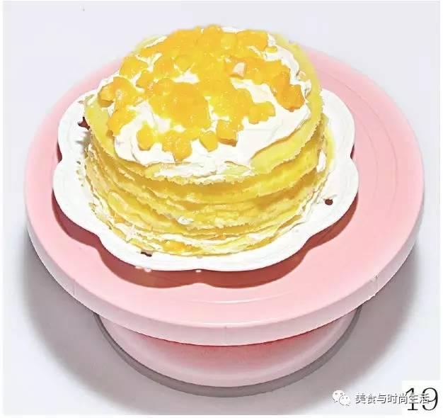 蛋糕盘子动物手工画