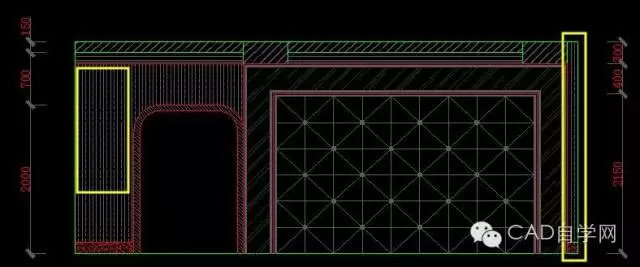 12.绘制出程序弧形.用画图文件任意绘制一个位图门套6图片