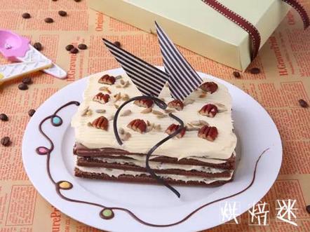 情人必备!冰脆巧克力蛋糕情人的浪漫