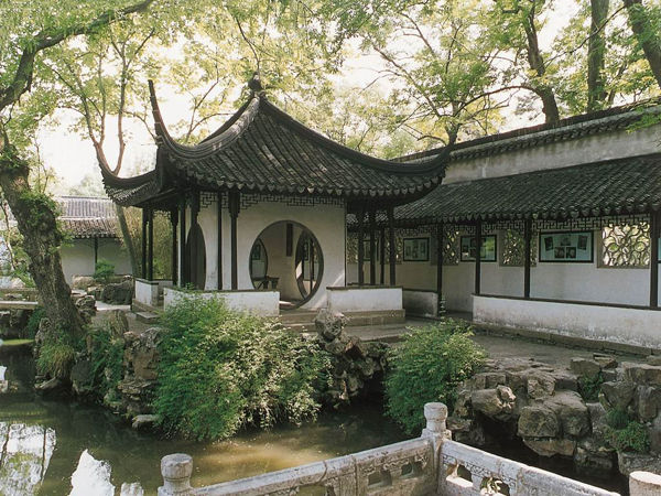 移步一景,中式园林图片