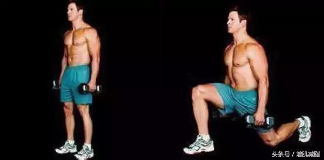 箭步蹲动作,塑造腿臀部线条,让你美腿同时翘臀!