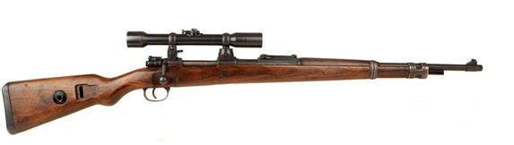 盘点二战美国和德国几款经典的枪支,装上瞄准镜就是狙击枪