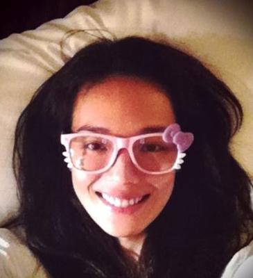 【八一八】那些年戴过大框眼镜的她和她们!