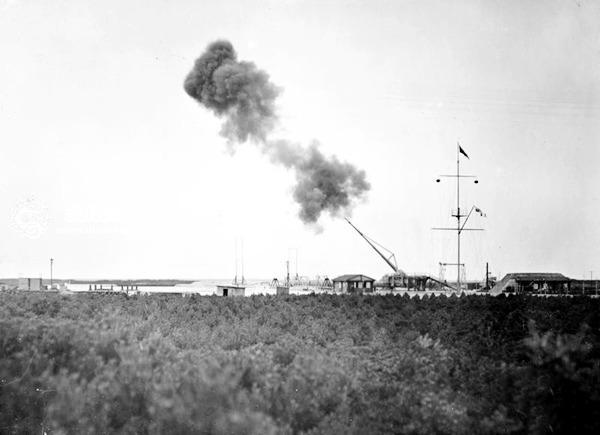 一战中德军秘密研制的巴黎大炮