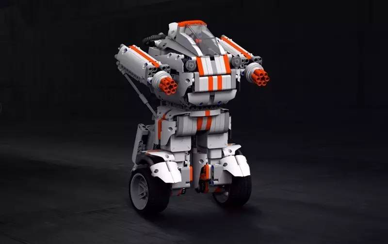 5.小米米兔积木机器人(售价599元人民币)会动的玩具蛇图片