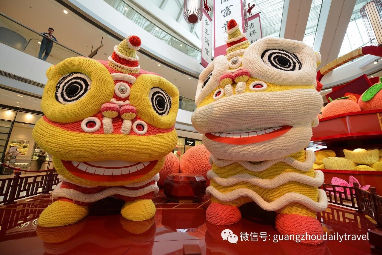 春节画画图片带狮子