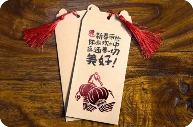 鸡年红包手绘画