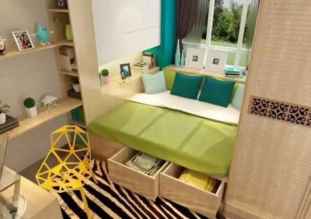 小户型儿童房设计小空间大利用